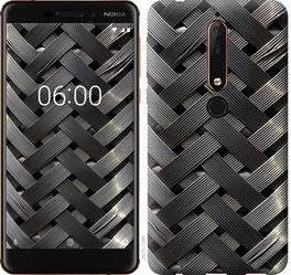 """Чехол на Nokia 6.1 Металлические фоны """"2927c-1628-328"""""""