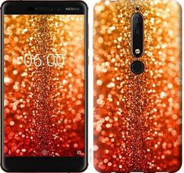 """Чехол на Nokia 6.1 Звездная пыль """"1743c-1628-328"""""""