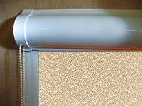 Ролеты тканевые (рулонные шторы) Pearl Блэкаут Besta uni закрытый короб