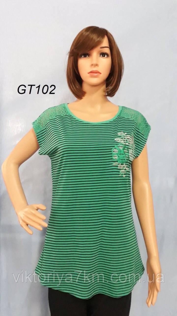 Женские туники и футболки  оптом  (2XL-5XL) RS1-1766