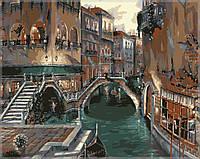 Раскраска по цифрам MENGLEI Романтика Италии