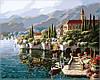 Картина по номерам на холсте Идейка Отражение Веренны KH1145