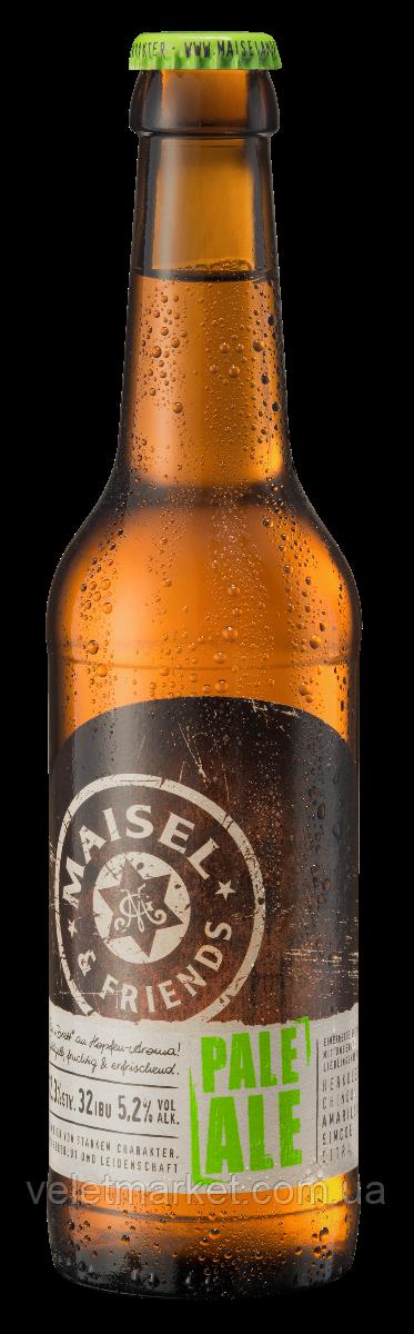 Немецкое пиво Майзел энд Френдc Пейл Эль (Maisel & Friends Pale Ale 12) светлое 0,33 л