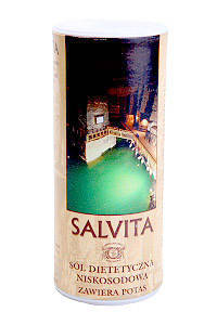 Соль диетическая обогащенная калием SALVITA - 250г, фото 2