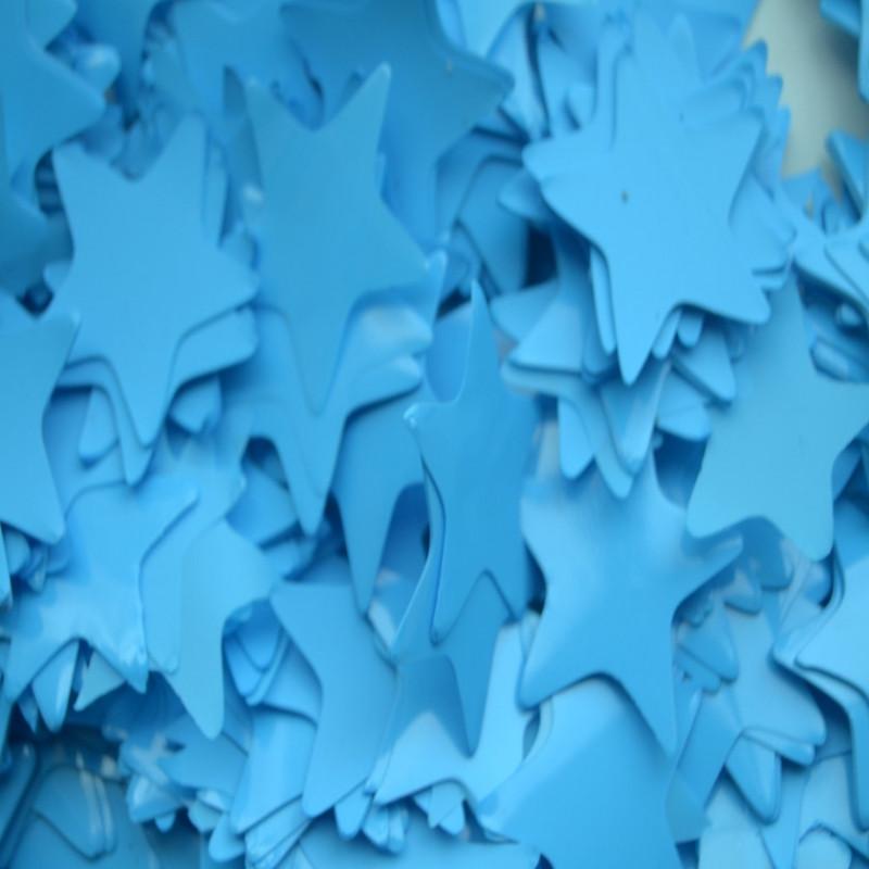 Конфетти Звёздочки, Голубые, 500 гр