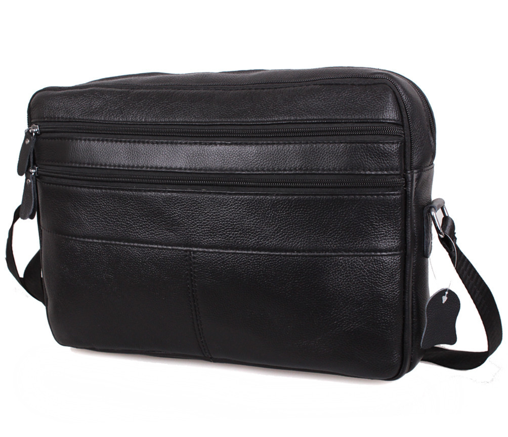 41b39322fcec Мужская кожаная сумка A4 Dovhani Bon3923-1 Черная: продажа, цена в ...
