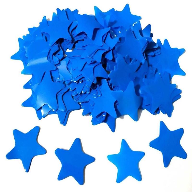Конфетти Звёздочки, Синие, 100 гр