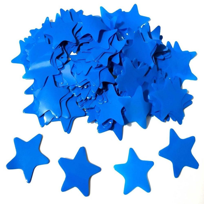 Конфетти Звёздочки, Синие, 500 гр