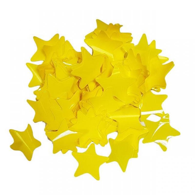 Конфетти Звёздочки, Жёлтые, 100 гр