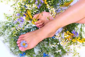 Органическая косметика: уход за ногами (крема,скрабы, пилинги)