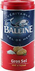 Соль морская йодированная фторированная крупнозернистая La Baleine - 500г