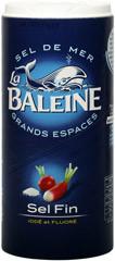 Соль морская йодированная фторированная La Baleine - 600г