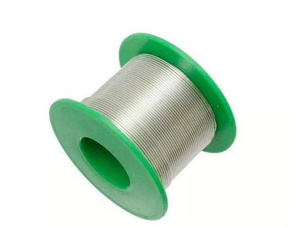 Припой бессвинцовый для пайки в катушке с флюсом (0,6 мм, 50 г)