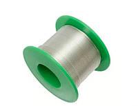 Припой бессвинцовый для пайки в катушке с флюсом (0,8 мм, 50 г)