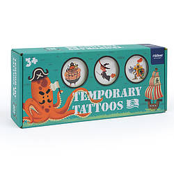 """Детские временные татуировки """"Фантастические путешествия"""" MiDeer Toys"""