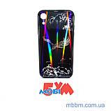"""Накладка TPU + Glass Lumi iPhone Xr {6.1 """"} яструб, фото 3"""