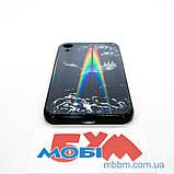 """Накладка TPU + Glass Lumi iPhone Xr {6.1 """"} яструб, фото 4"""