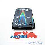 """Накладка TPU + Glass Lumi iPhone Xr {6.1 """"} яструб, фото 5"""
