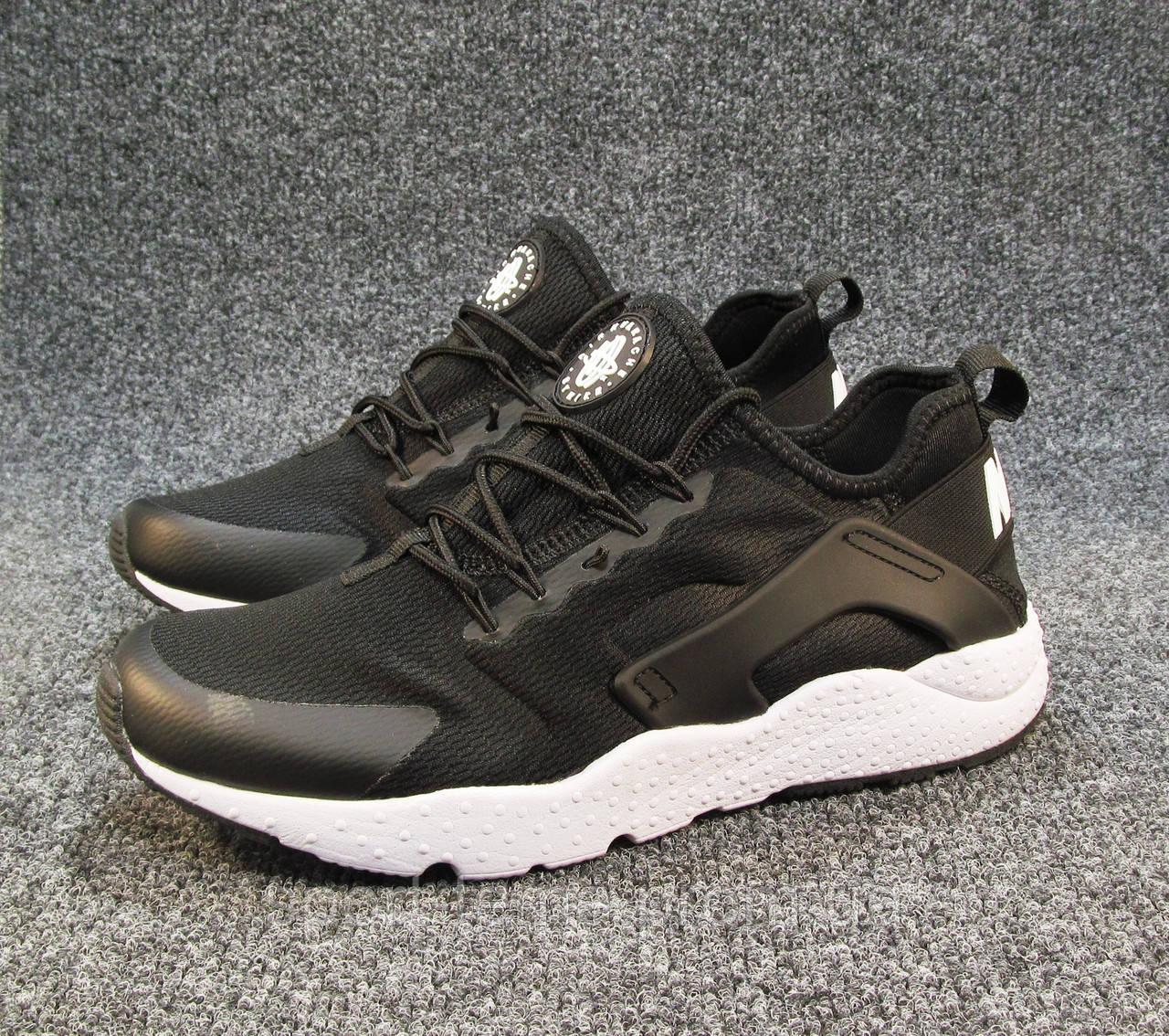 new style de28d a5191 Кроссовки Nike Huarache черные унисекс (р.39,40,41)