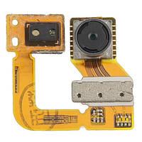Камера для смартфона Nokia 720 Lumia фронтальная (маленькая) с датчиком приближения и света со шлейфом