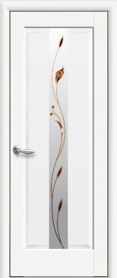 Межкомнатные двери белые Премьера