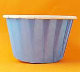 Формы для выпечки кексов бумажные 6,5*4 см, фото 3