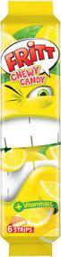 Желейные конфеты Fritt (жевательные) лимон Германия 70г