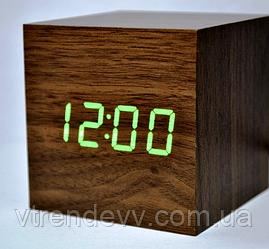 Часы электронные настольные VST-869 Original коричневые