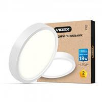 LED Светильник VIDEX 18W VL-DLRS-185 white