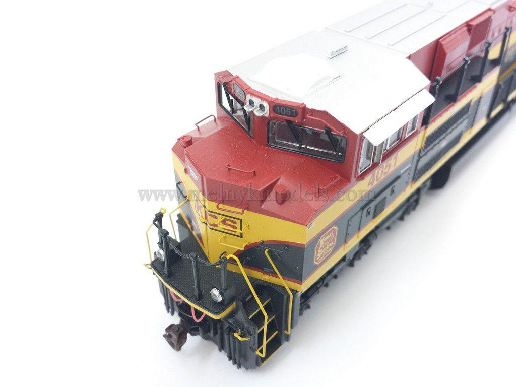 MTH 80-2067-0 / тепловоз SD70ACE-4051 Kansas City Southern / 1:87