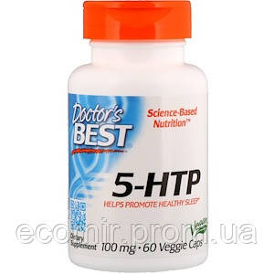 5-HTP, Doctor's Best (100мг/ 60 капсул)