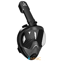 Панорамная маска для дайвинга, плавания, снорклинга SMACO MASK M8028