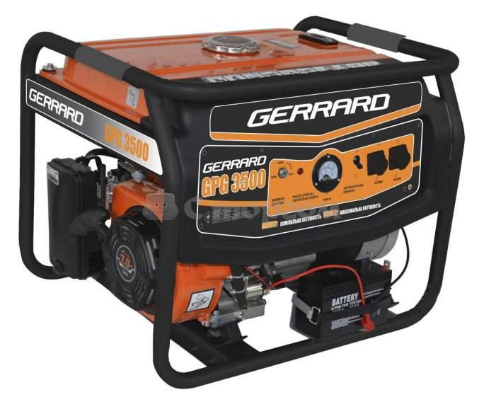 Электрогенератор Gerrard GPG3500