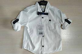 Детская рубашка для мальчиков 2-5 лет