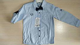 Детская рубашка для мальчиков 6-9 лет