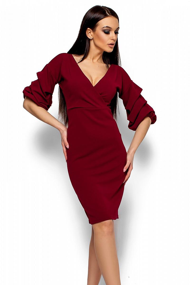 S, M, L / Вечернее женское платье Charry, марсала