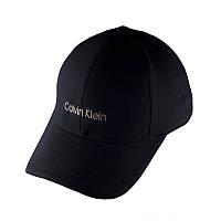 Бейсболка Calvin Klein, черная кепка