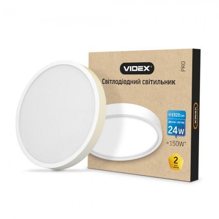LED Светильник  VIDEX 24W VL-DLRS-245 white
