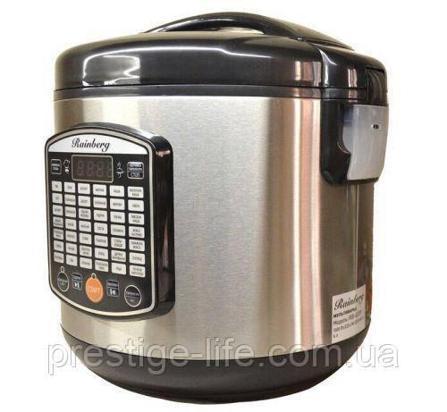 Мультиварка Rainberg 1000 Вт 42 программы + Йогуртница + 3d нагрев чаш