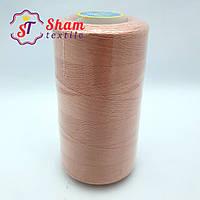 Нитка швейная 40/2 (4000 ярдов) персиковая