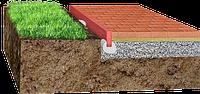 Механизм установки поребрика или бордюра весьма прост: 1) Определить границы участка. 2. Далее необходимо выровнять дно в в грунте углубления. 3. После этого установить под уровень бордюр.