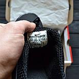 Мужские кроссовки Air Presto BR QS all black. Живое фото  (Реплика ААА+), фото 3