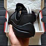 Мужские кроссовки Air Presto BR QS all black. Живое фото  (Реплика ААА+), фото 4