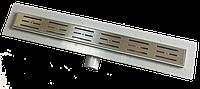 Трап для душа NOVA 5205 Plastik боковой выход 800 мм.
