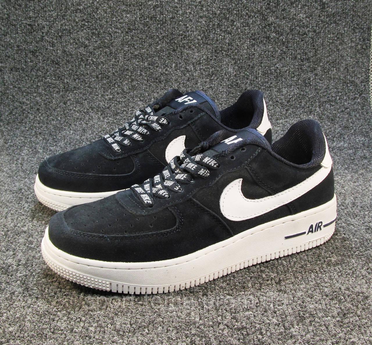 8450879d Кроссовки мужские Nike Air Force синие (найк аир форсы) (р.42,43,44 ...