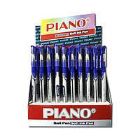 Ручка  масл. Piano PT-195C (син.) / 50уп