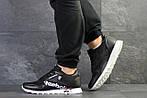 Мужские кроссовки Reebok (черно-белые) , фото 4