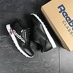 Мужские кроссовки Reebok (черно-белые) , фото 6