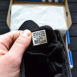 Чоловічі кросівки Adidas EQT ADV Support Black/White. Живе фото. Топ якість! (Репліка ААА+), фото 5