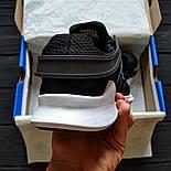 Чоловічі кросівки Adidas EQT ADV Support Black/White. Живе фото. Топ якість! (Репліка ААА+), фото 4